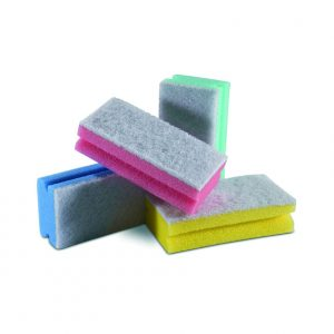 esponja esfregao branco
